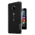 Nillkin Nature TPU Cases Soft Skin Covers for Microsoft Lumia 640 XL - Gray