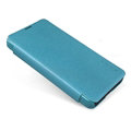 Nillkin Sparkle Flip Leather Case Book Holster Covers for Microsoft Lumia 430 - Blue