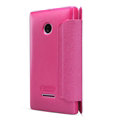 Nillkin Sparkle Flip Leather Case Book Holster Covers for Microsoft Lumia 532 - Rose