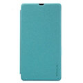 Nillkin Sparkle Flip Leather Case Book Holster Covers for Microsoft Lumia 540 - Blue