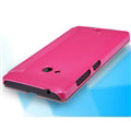 Nillkin Sparkle Flip Leather Case Book Holster Covers for Microsoft Lumia 540 - Rose