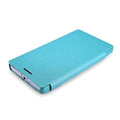 Nillkin Sparkle Flip Leather Case Book Holster Covers for Nokia Lumia Icon 929 930 - Blue