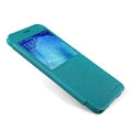 Nillkin Sparkle Flip Leather Case Book Holster Covers for Samsung Galaxy A8 A8000 - Blue