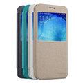 Nillkin Sparkle Flip Leather Case Book Holster Covers for Samsung Galaxy A8 A8000 - Gold