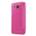 Nillkin Sparkle Flip Leather Case Book Holster Covers for Samsung Galaxy A8 A8000 - Rose