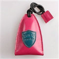 Special Universal Genuine Leather Oil Wax Auto Key Bags - Pink