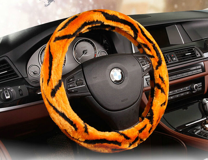 buy wholesale fluffy auto steering wheel covers velvet 15 inch 38cm orange from chinese. Black Bedroom Furniture Sets. Home Design Ideas