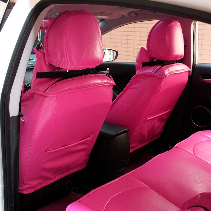 Buy Wholesale Cute Auto Seat Covers For Women PU Leather
