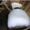 High Quality Wool Universal Car Seat Cushion Winter Fur One Piece Pads 1pcs - White