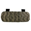 Leopard Print Plush Car Rear Seat Cushion Woman Winter Universal Seat Pads 1pcs - Black Gold