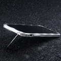 Creative Aluminum Bumper Frame Case for iPhone 7S Support Lanyard Metal Cover - Sliver