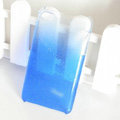 Gradient Blue Silicone Hard Cases Covers For iPhone 7S