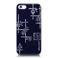 Nillkin Platinum Elegant Hard Cases Skin Covers for iPhone 7S - Jardiniere Blue