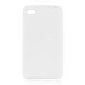 s-mak Color covers Silicone Cases For iPhone 7S - White