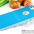 IMAK Matte double Color Cover Hard Case for iPhone 8 - Blue