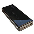 Original Sinoele Mobile Power Backup Battery Charger 7000mAh for iPhone 8 - Black