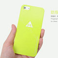 ROCK Naked Shell Cases Hard Back Covers for iPhone 8 - Yellow