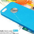 IMAK Ultrathin Matte Color Covers Hard Cases for iPhone 8 Plus - Blue