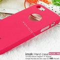 IMAK Ultrathin Matte Color Covers Hard Cases for iPhone 8 Plus - Rose