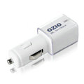 Ozio EB24 Auto USB Car Charger Universal Charger for iPhone 8 Plus - White