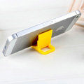 Plastic Universal Bracket Phone Holder for iPhone 8 Plus - Yellow