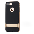 Rock Aluminum Bumper Frame Case for iPhone 8 Plus Support Silicone Pack Cover - Gold