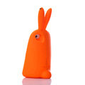 TPU Three-dimensional Rabbit Covers Silicone Shell for iPhone 8 Plus - Orange
