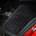 Winter Diamond Plush Car Rear Seat Cushion Woman Universal Automobile Pads 1pcs - Black
