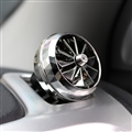 Abs Great Clear 1pcs Car Air-Purify Clip Auto Air Out Perfume Clip - Silver