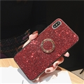 Diamond Shining Silicone Soft Case Shell Cover for Samsung Galaxy S10 - Red
