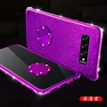 Diamond Silicone Soft Bling Case Protective Shell Cover for Samsung Galaxy S10 - Purple
