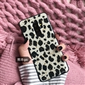 Leopard Matte Silica Gel Shell TPU Shield Back Soft Cases Skin Covers for Samsung Galaxy S9 Plus S9+ - Gold leaf