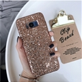 Leopard Matte Silica Gel Shell TPU Shield Back Soft Cases Skin Covers for Samsung Galaxy S9 Plus S9+ - Golden