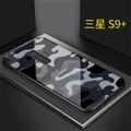 Lovers Camouflage Mirror Surface Silicone Glass Covers Protective Back Cases For Samsung Galaxy S9 Plus S9+ - 01
