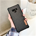 Matte Cases Woven Simplicity Hard Covers for Samsung Galaxy Note9 - Black