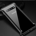 Ultrathin Cases Metal Cover Bumper Frame Protective Shell for Samsung Galaxy S10 - Black