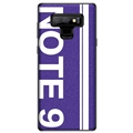 Ultrathin Matte Silica Gel Shell TPU Shield Back Soft Cases Skin Covers for Samsung Galaxy Note9 - Purple