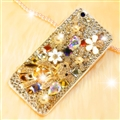 Fashion Bling Crystal Cover Rhinestone Diamond Case For iPhone 6 Plus - Gold 01