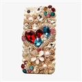 Fashion Bling Crystal Covers Rhinestone Diamond Cases For iPhone 6 Plus - Gold 01