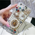 Fashion Bling Pearl Covers Rhinestone Diamond Cases For iPhone 6 Plus - Perfume Bottle