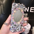 Flower Bling Crystal Covers Rhinestone Diamond Cases For iPhone 6 Plus - 01