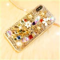 Fashion Bling Crystal Cover Rhinestone Diamond Case For iPhone 6S - Gold 03